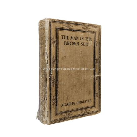 The Man In the Brown Suit by Agatha Christie First Edition The Bodley Head 1924